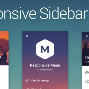 Sidebar Menu: A Menu and Navigation Sidebar Plugin