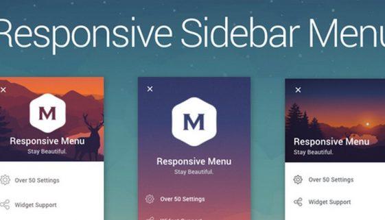 Sidebar Menu: A Menu and Navigation Sidebar Plugin