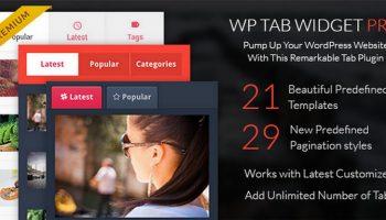 WP Tab Widget Pro