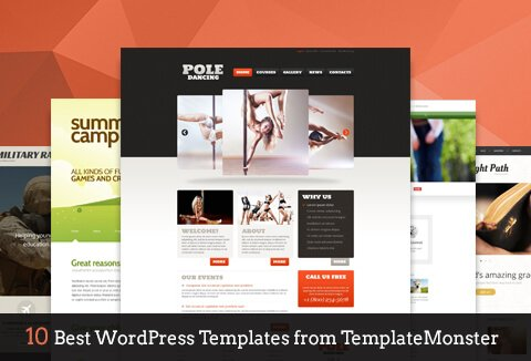 Check out these 10 awesome WordPress themes from TemplateMonster?