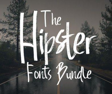 Hipster Font Bundle