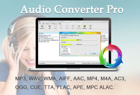 Audio Converter Software for Windows.