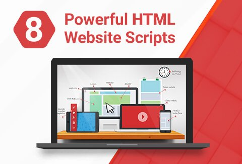 This bundle of 8 HTML website scripts will bring your website to life in an instant.