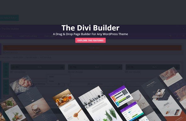 The Divi Builder Plugin is a stand-alone Drag & Drop page builder plugin.