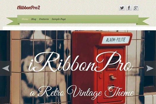iRibbon Pro 2 WordPress Theme