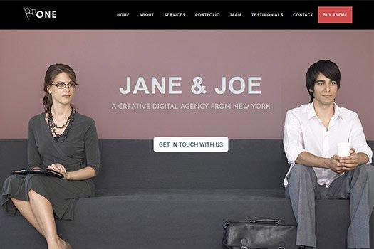 WordPress Themes Giveaway - One Page Business Pro WordPress Theme