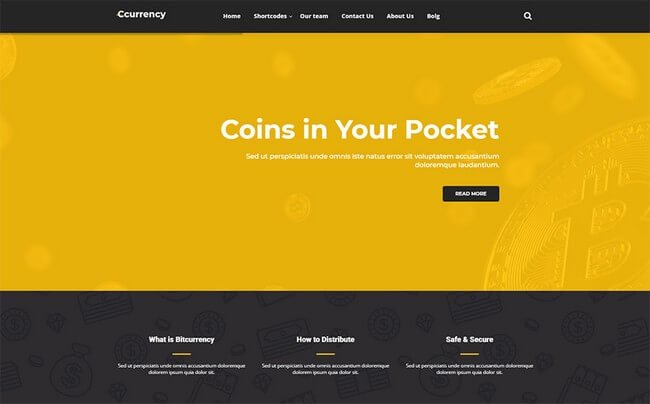 If you provide some services related to cryptocurrency then this WordPress theme is your cup of tea.