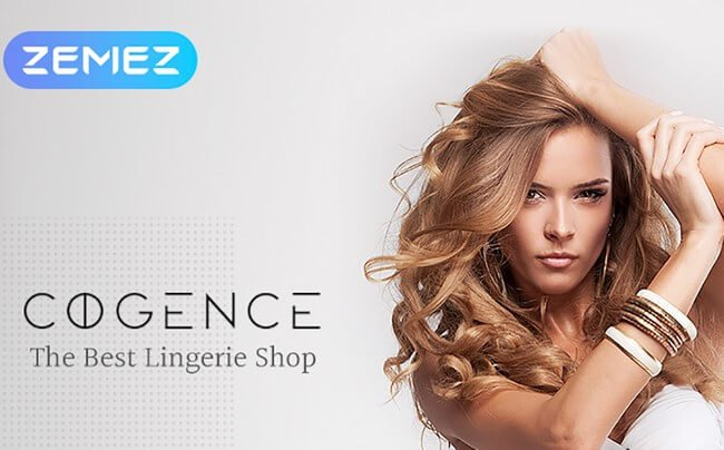 Emphasize the beauty of the lingerie your provide using this stylish WooCommerce theme.
