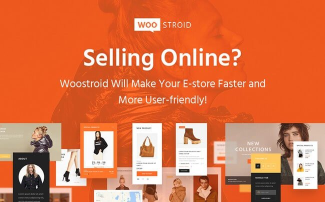 Awesome WordPress theme - Woostroid is the best WooCommerce theme to build your online store.