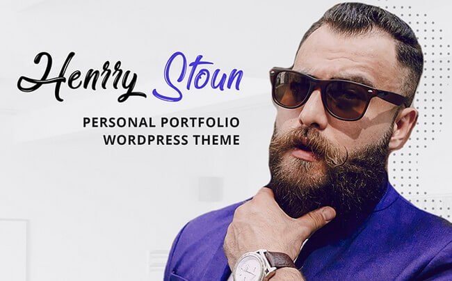This WordPress theme is the best choice to represent your personal portfolio in a professional manner.
