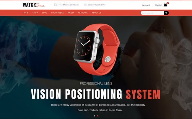 take advantage of this WooCommerce theme to emphasize your product and increase your sells..