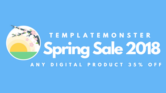 TemplateMonster Spring Sale