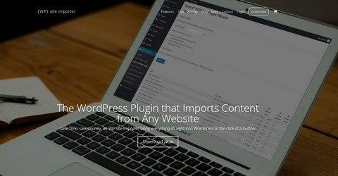 WP Site Importer WordPress Plugin