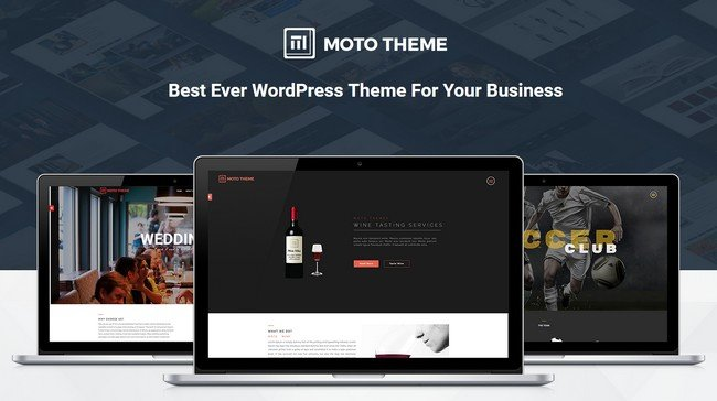 Moto Theme - WordPress Marketing Theme