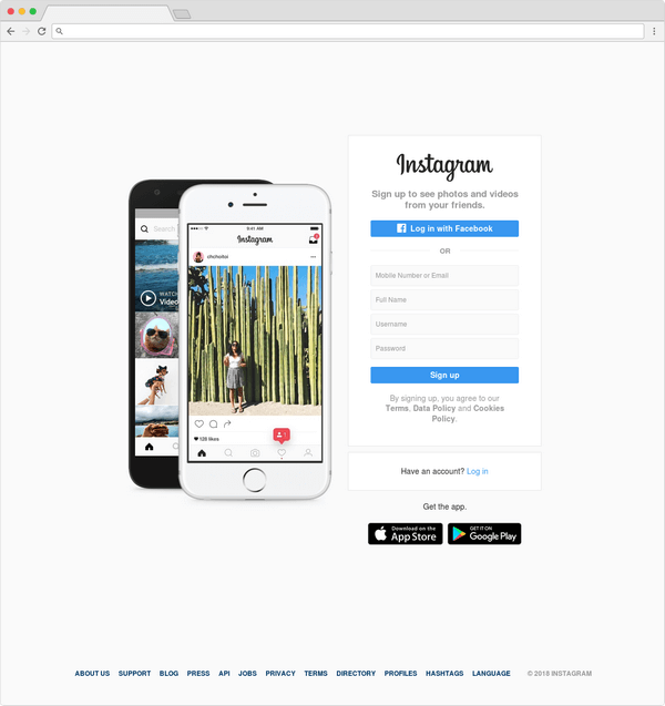 Ecommerce Website Visibility - Instagram have 400 million active users.