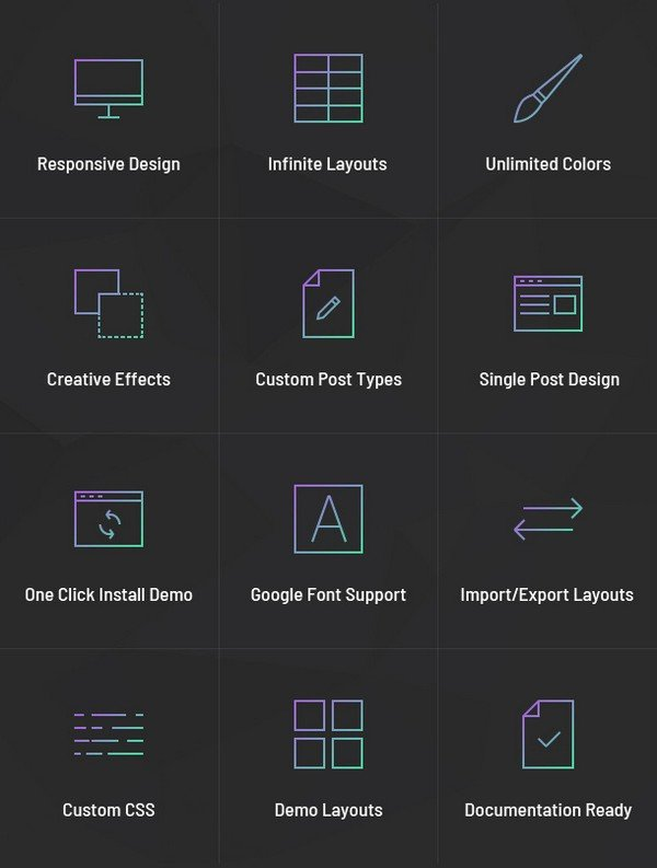 A Creative Portfolio Plugin for WordPress - Portfolio Designer Plugin Features