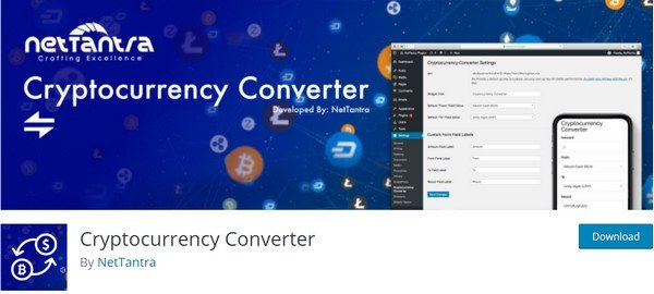 Cryptocurrency Converter is a perfect plugin if your site that is connected to coins.