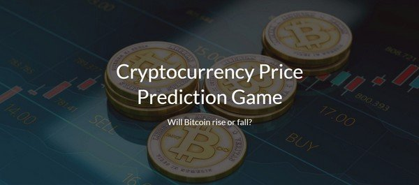 Cryptocurrency Price Prediction Game offers you an option of betting on the major currency prices.