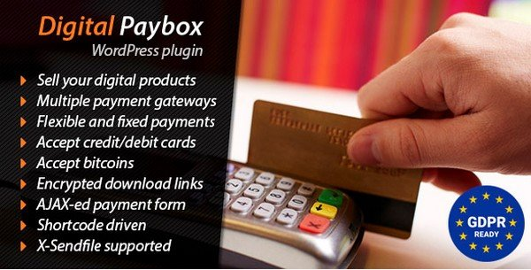 Digital Paybox gives you the option of distributing the files through the payments.
