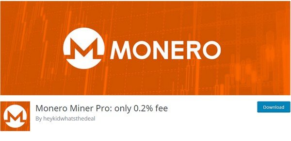 Monero is a plugin for secure payment options.