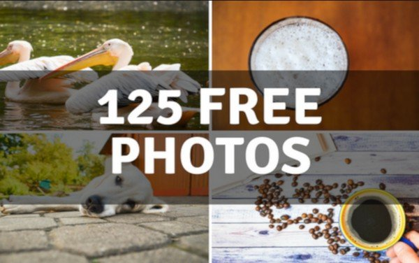 Grab 125 stock pictures for free.