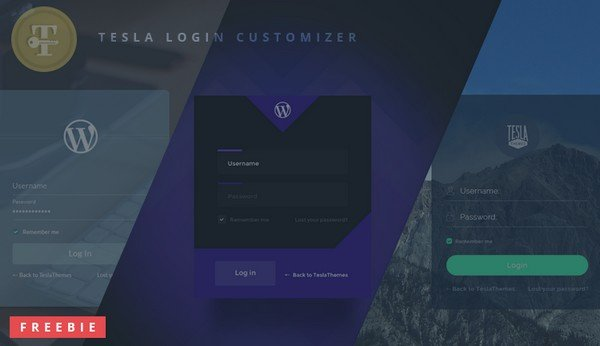 With this plugin you can simply customize your WordPress login page.