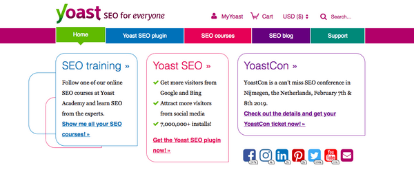 Yoast SEO is the the first plugin that one should install..