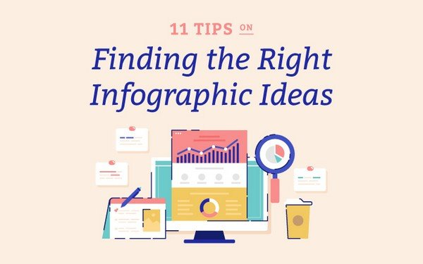 Learn how to finding the right infographic ideas.