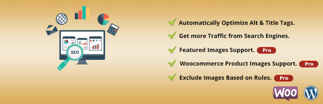 Seo Optimized Images automatically puts the necessary ALT attributes.