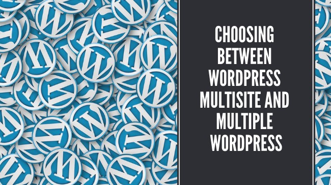Choosing between WordPress Multisite and Multiple WordPress