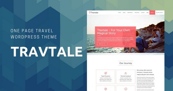 Travtale - A Creative Premium Travel WordPress Theme.