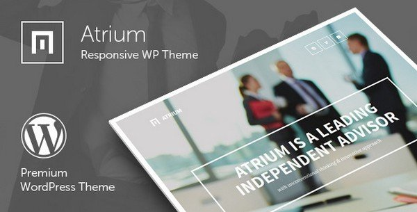 Atrium is a responsive one-page WordPress theme for all types of corporate websites.