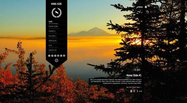 KingsSize beautiful and photography-friendly WordPress theme.