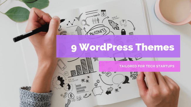 WordPress Themes Tailored for Tech Startups