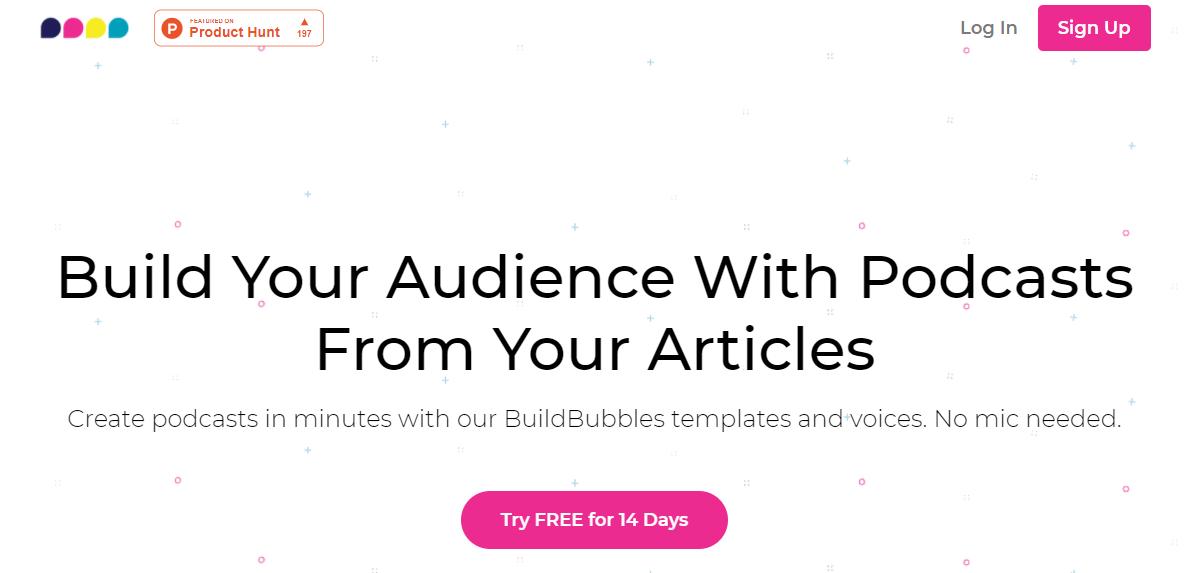 BuildBubbles