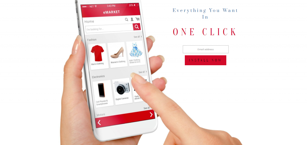 Coming Soon & Maintenance Mode Online Shopping theme