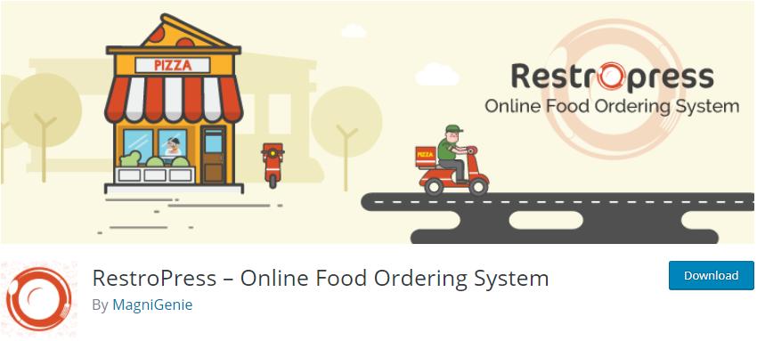 RestroPress – Online Food Ordering System