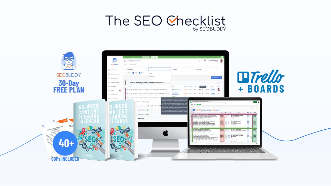 SEO Checklist by SEOBUDDY