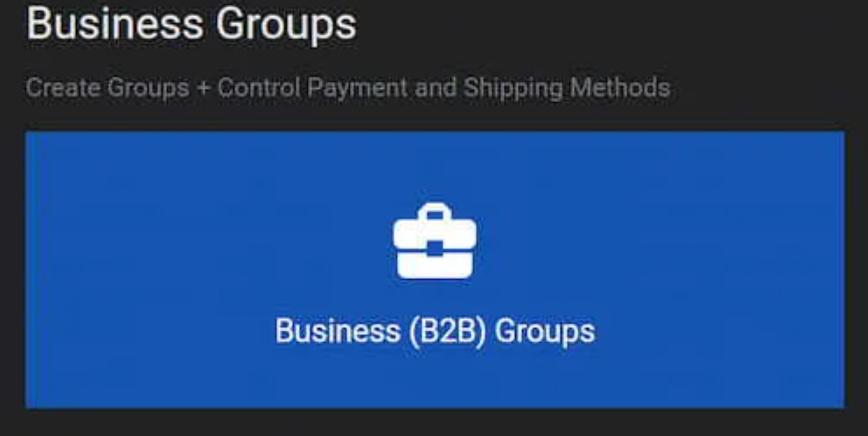 B2BKing groups
