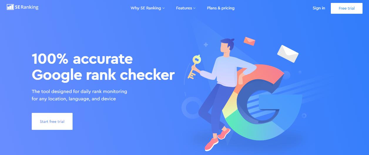 Google Rank Checker by SE Ranking