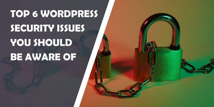 Top 6 WordPress Security Issues You Should Be Aware of: Protect Yourself From Trouble by Staying Ahead of It