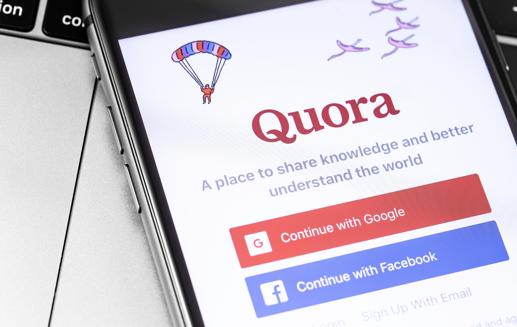 Quora mobile app