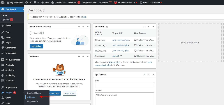 Spotlight Social Media Feeds Toolbar add new
