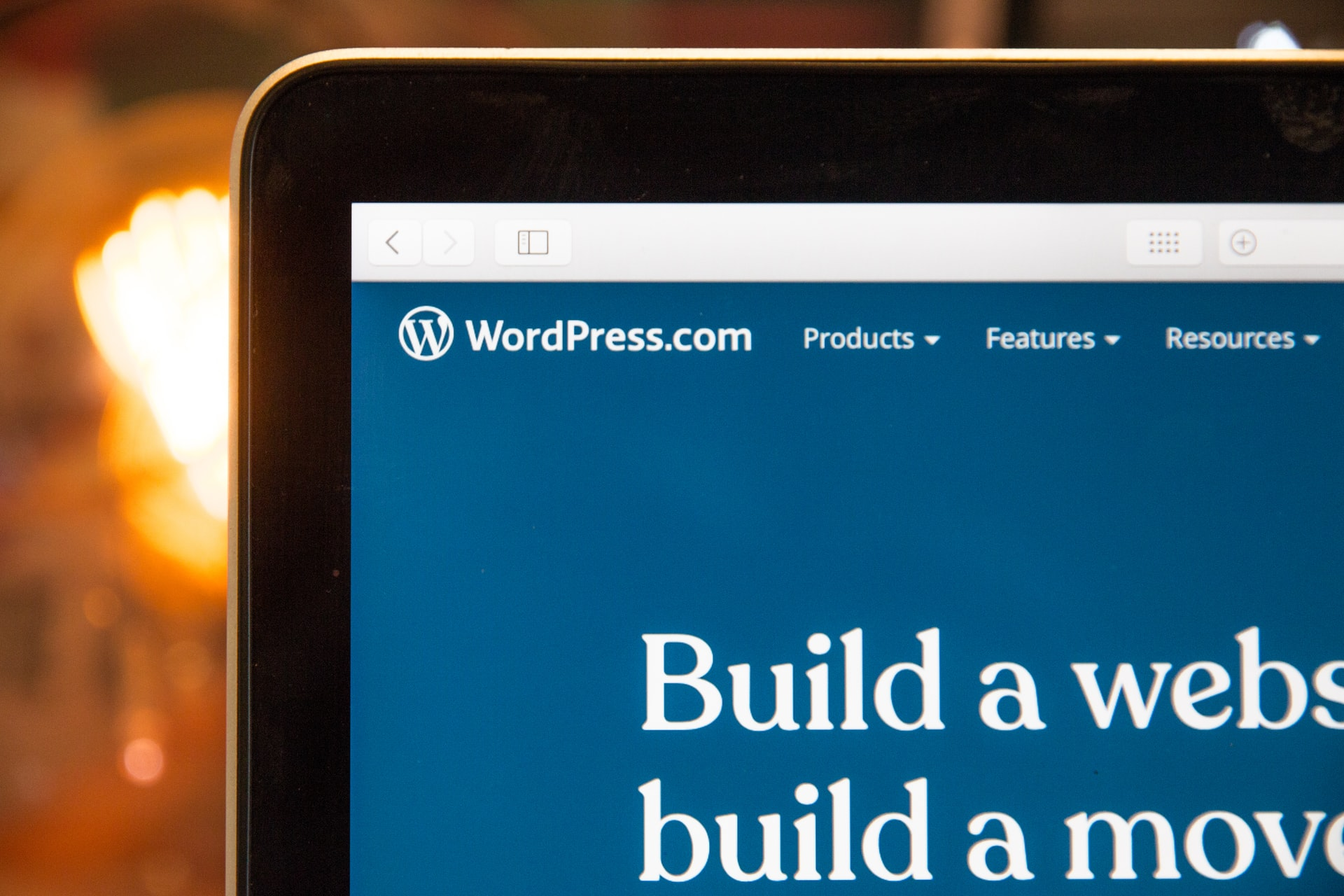 WordPress open in browser