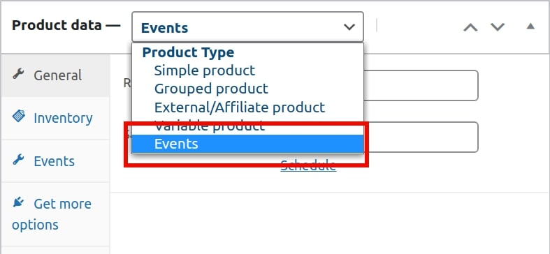 Adding events to your WooCommerce store