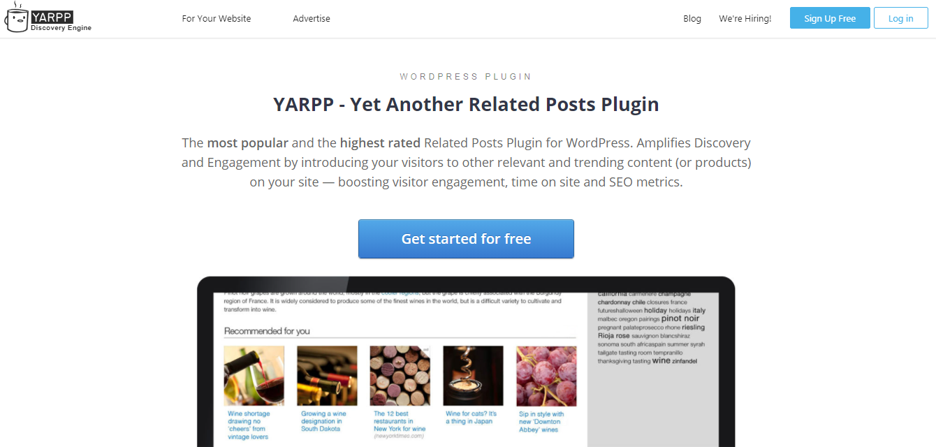 YARPP - Yet Another Related Posts Plugin